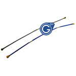 Sony Xperia Z1 L39H RF Antenna Cable 2pcs set -Gray and Blue