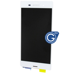 Sony Xperia Z3 (5.2 inch) Complete LCD with Digitizer in White -High quality