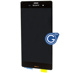 Sony Xperia Z3 (5.2 inch) Complete LCD with Digitizer in Black -OEM