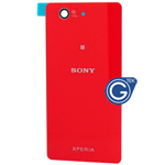Sony Xperia Z3 Compact ,Z3 Mini (D5803) Battery Cover in Red (Highest quality )