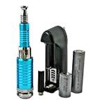 K100 Electronic Vaporiser Kit 900mAh & 2000mAh in Blue