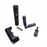 K200+ Electronic Vaporiser Kit with Two 2000mAh Batteries in Black