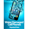 A2 Medium Sized Water Damaged Mobile Cell Phone Fully Submerged in Water Poster - Shipped to UK Only, Shipped Seperately in a protective tube