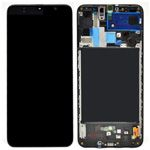 Genuine Samsung Galaxy A70 (A705F) lcd and touchpad in black - part no: GH82-19787A