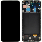 Genuine Samsung Galaxy A30 (SM-A305F) lcd and touchpad in black - Part no: GH82-19202A
