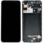 Genuine Samsung Galaxy A30s (SM-A307F) lcd and touchpad in black - part no: GH82-21190A