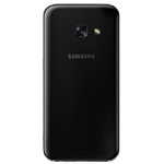 Genuine Samsung SM-A320 Galaxy A3 (2017) Back Cover in Black - Samsung part no: GH82-13636A