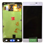 Genuine Samsung Galaxy A5 (SM-A500) Lcd and touchpad in Silver - Samsung Part no: GH97-16679C