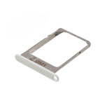 Genuine Samsung SM-A500F Galaxy A5 Sim Card Tray in White- Samsung part no: GH61-08203A (Grade A)