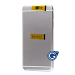 HTC One A9 Rear Housing with Side Buttons in Silver