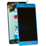 Samsung Alpha G850F Lcd and touchpad in Blue - Samsung Part no: GH97-16386C