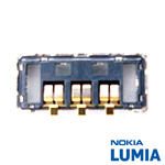 Genuine Nokia Lumia 925 Battery Connector - P/N:5469C36, Battery Contact