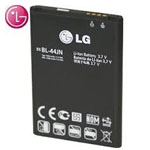 Genuine LG Battery BL-44JN EAC61679601 for LG P970, E510, E400, E510, E610, Optimus L3, L5, Optimus 2