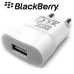 Genuine Blackberry EU Charger 2 pin ASY-31295-003 USB White Plug Only - Bulk Packed - RIM
