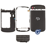 BlackBerry Q10 Housing Complete Assembly in Black (Genuine)