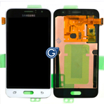 Genuine Samsung SM-J120 Galaxy J1 (2016) Lcd and touchpad in White - Part no: GH97-18224A