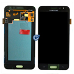 Genuine Samsung SM-J320F Galaxy J3 (2016) LCD / Touch in Black - Part no: GH97-18414C