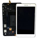 Genuine Samsung SM-T230 Galaxy Tab 4 7.0 Complete Lcd with Touchscreen in White-Samsung part no: GH97-15864B