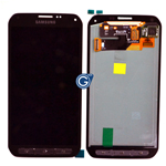 Genuine Samsung SM-G870F Galaxy S5 Active Complete Front Lcd with Touchscreen in Silver-Samsung part no: GH97-16088A