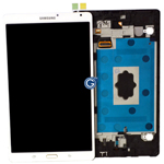 Genuine Samsung SM-T700 Galaxy Tab S2 Complete Lcd with Digitizer Touchpad in White-Samsung part no: GH97-16047A