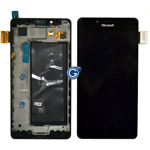 Genuine Microsoft Lumia 950, Lumia 950 Dual Sim, Lumia 950 LTE Complete Display LCD with Digitizer Touchscreen-Microsoft part no: 00814D7