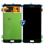 Genuine Samsung SM-A710 Galaxy A7 Complete Lcd with Digitizer Assembly in Octa Black-Samsung part no: GH97-18229B