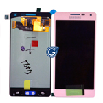 Genuine Samsung SM-A500F Galaxy A5 Complete Display LCD with Digitizer Touchscreen in Pink-Samsung part no: GH97-16679E