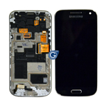 Samsung GT-I9195D Galaxy S4 Mini VE  Lcd and touchpad with frame in black - Part no: GH97-16992A