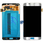 Genuine Samsung SM-N920 Galaxy Note 5 Complete Lcd with Digitizer in Silver-Samsung part no: GH97-17755D
