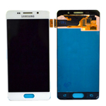 Genuine Samsung Galaxy A3 2016 (SM-A310F) Complete Display Lcd with Touchscreen in White-Samsung part no :GH97-18249A