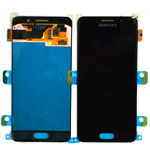 Genuine Samsung Galaxy A3 2016 (SM-A310F) Complete Display Lcd with Touchscreen in Black-Samsung part no :GH97-18249B