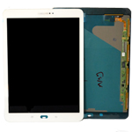 Genuine Samsung SM-T815 Galaxy Tab S2 Complete Lcd with Touchscreen in White- Samsung part no: GH97-17729B