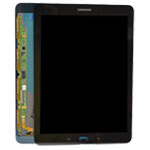 Genuine Samsung SM-T815 Galaxy Tab S2 Complete Lcd with Touchscreen in Black- Samsung part no: GH97-17729A