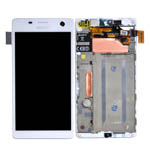 Genuine Sony Xperia C4 (E5303)  Complete Lcd with Digitizer Touchscreen in White-Sony part no: A/8CS-59160-0002