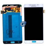 Genuine Samsung SM-N920 Galaxy Note 5 Complete Lcd with Digitizer in White -Samsung part no: GH97-17755C