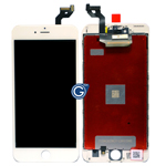 iPhone 6S Plus Complete LCD with Touchpad and Frame in White - High quality part
