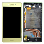 Genuine Sony (F8131)/ Xperia X Performance/X Dual Performance (F8132) Complete Lcd with Digitiser in Lime-Sony part no: 1302-3693