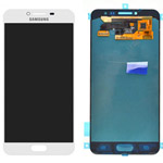 Genuine Samsung Galaxy C5 Lcd and touchpad in White - GH97-19116D