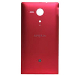 Sony C5303 Xperia SP, C5302 Xperia SP, C5306 Xperia SP Battery Cover (Red) -  P/N:1270-3768, Battery Door
