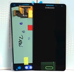 Genuine Samsung Galaxy A5 (SM-A500) Lcd and touchpad in Black - Part no: GH97-16679B