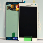 Genuine Galaxy A5 (SM-A500) Lcd and touchpad in white -Part no: GH97-16679A