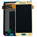 Genuine Samsung Galaxy S6 (G920F) Lcd and digitizer in Gold - Part number: GH97-17260C