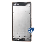 Sony Xperia Z3 Plus Dual (E6553), Z4 LCD Frame with Plug in Copper
