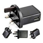 Genuine Sony E-800 Usb Mains Charging Adapter UK 3Pin