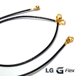 Genuine LG G-flex (D955) Coaxial RF Cable black - LG Part number: EAD62646001