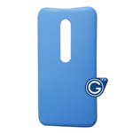 Motorola G3 Battery Cover in Blue