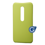 Motorola G3 Battery Cover in Green