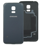Genuine Samsung Galaxy S5 Mini G800F Battery Cover Black - GH98-31984A
