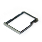 Genuine HTC One M8 SD Card Tray in Silver (Grade A)