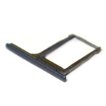 Genuine HTC One M8 Sim Card Tray in Black (Grade A)